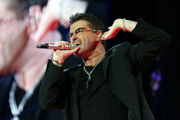 Image: George Michael 'Live 25' tour concert, Rome, Italy - 21 Jul 2007