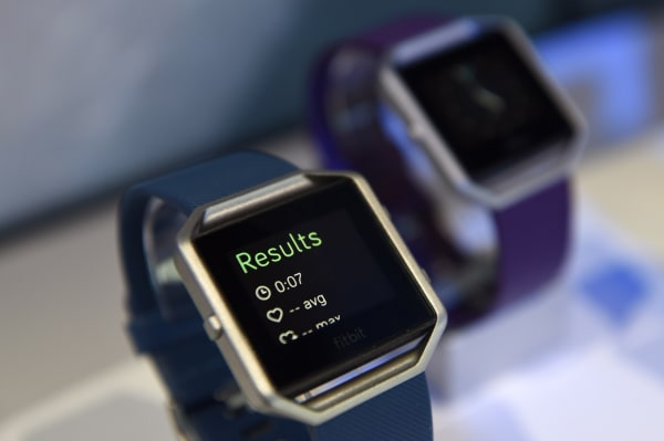 Image: The Fitbit Inc. Blaze fitness tracker