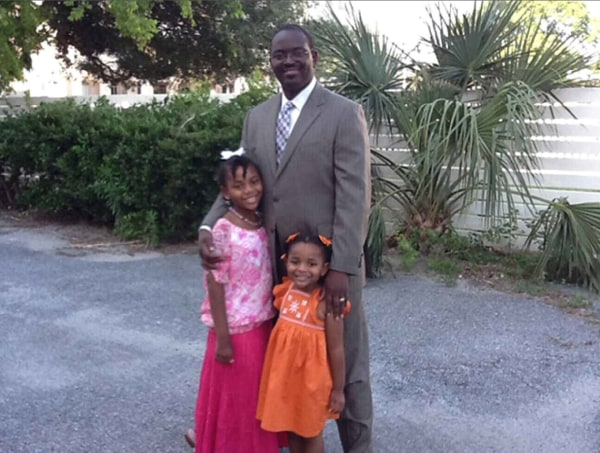 Image: Rev. Clementa Pinckney and family.