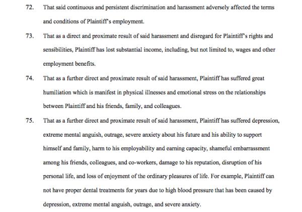 Screenshot: Seung-Whan Choi v Univ. of Illinois at Chicago complaint, 12/27/16