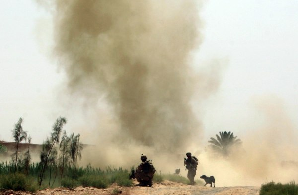Image: This file photo from 2010 shows U.S. Marines in Helmand province before the withdrawal of combat operations.