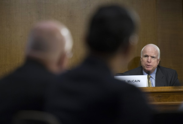 John McCain, Eric Shinseki, Robert Petzel