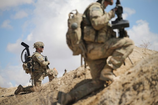Image: U.S. troops in Afghanistan
