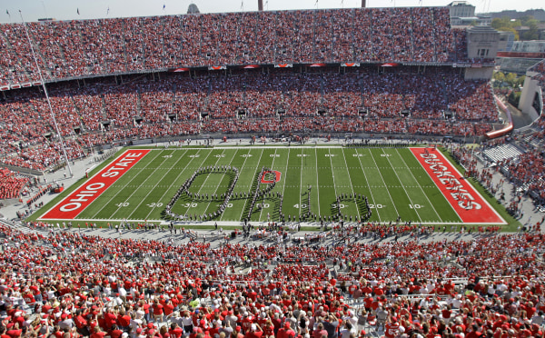 IMAGE: Ohio State University marching band