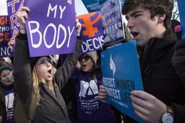 Image: Supreme Court To Hear Abortion Rights Case