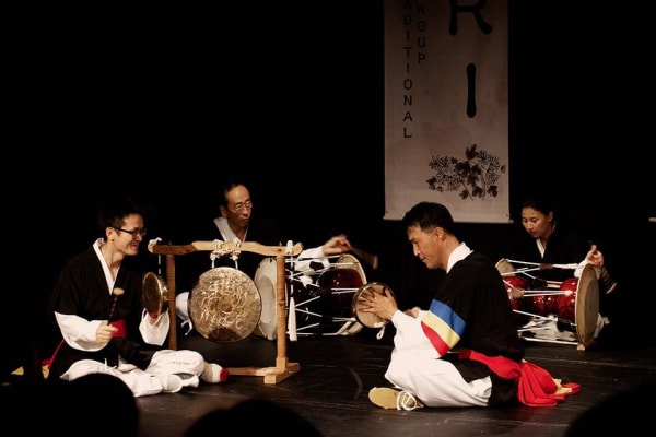 Samulnori uses four instruments, each of which symbolize an element of nature
