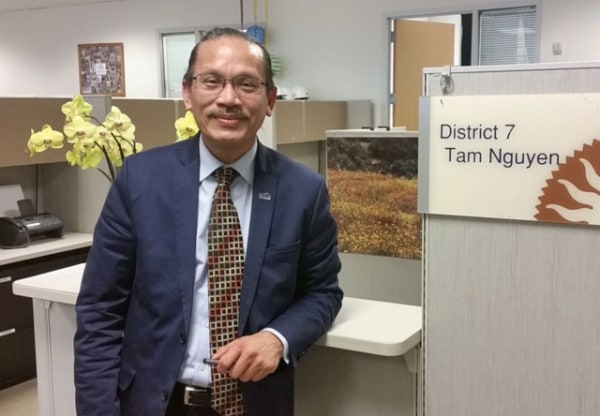 San Jose City Councilman Tam Nguyen