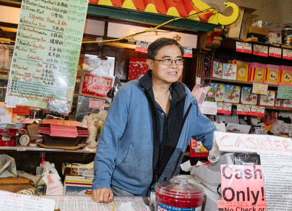 Orlando Kuan, owner of Eastern Bakery in San Francisco's Chinatown