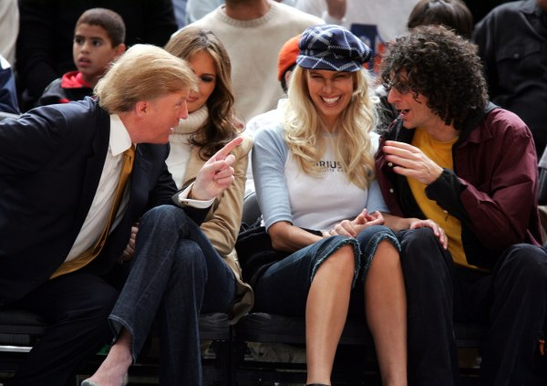 Image: Celebrities Attend the Washington Wizards vs New York Knicks Game