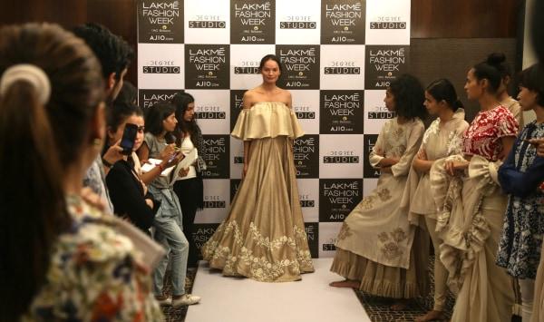 Image: Anjali Lama, first transgender model to walk at Lakme Fashion Week