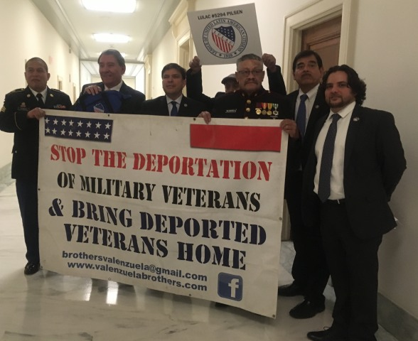 Military veterans are fighting deportations