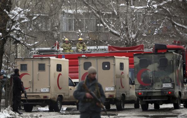 IMAGE: Kabul Supreme Court bombing