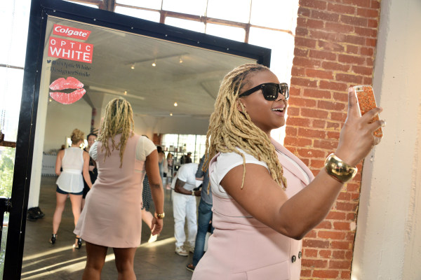 Colgate Optic White Beauty Bar at Hudson Loft in Los Angeles - Day 2