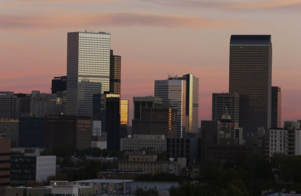 Image: Denver skyline