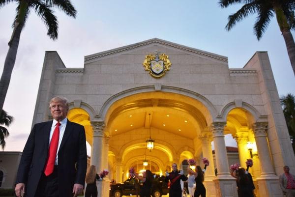 Image: Trump in Florida