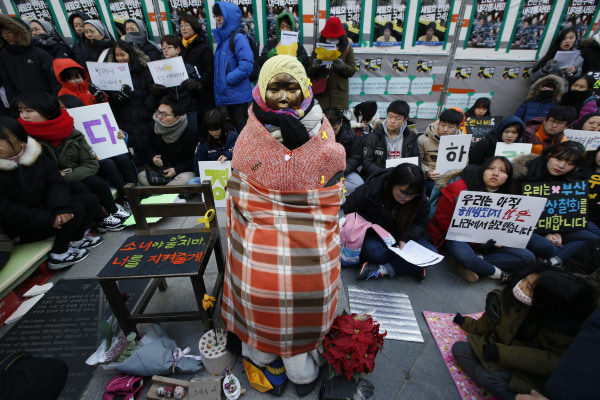 Image: South Korea protest weekly rally against Japanese government
