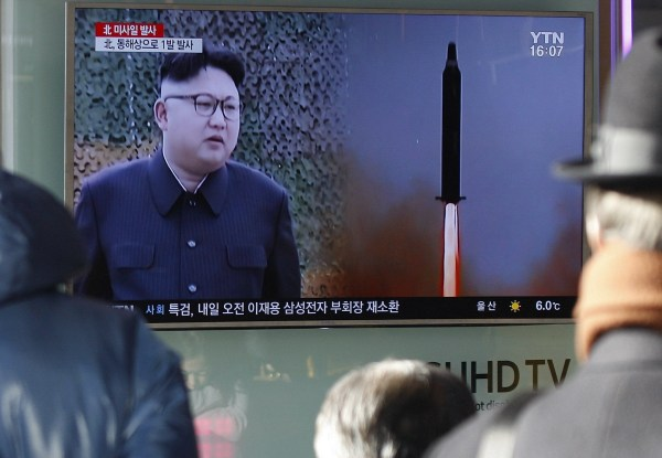Image: North Korean missile launch