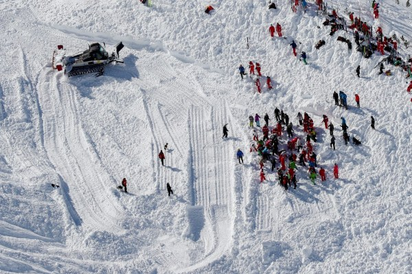 Image: French Alps avalanche