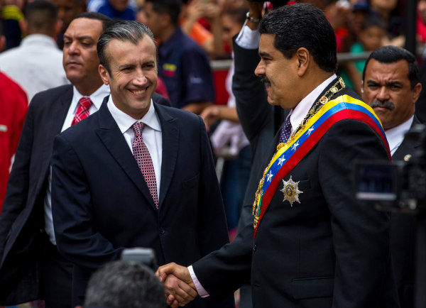 Image: Venezuelan VP El Aissami imposed with sanctions by US Treasury Dept