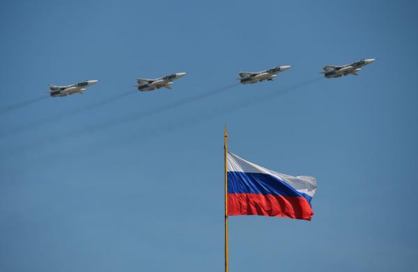 Image: Su-24M frontline bombers