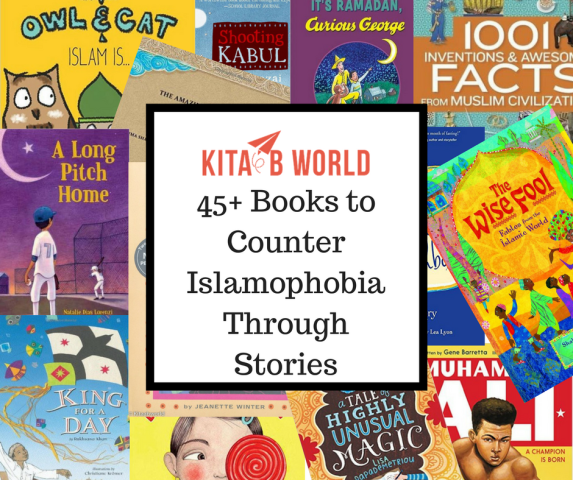 "The logo of KitaabWorld's ""Counter Islamophobia Through Stories"" Campaign"