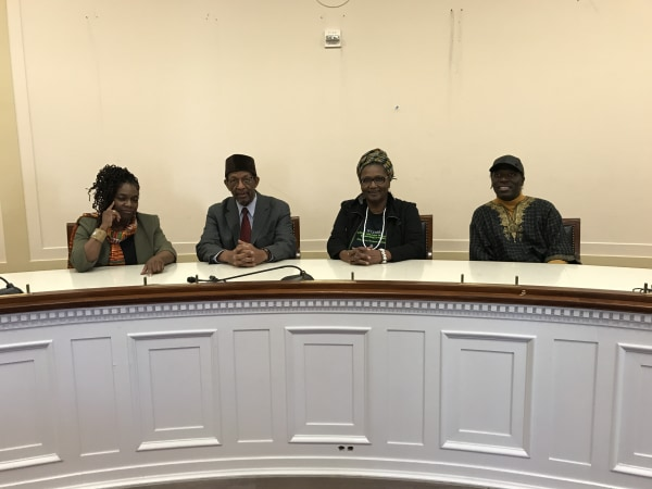 Capitol Hill briefing about reparations