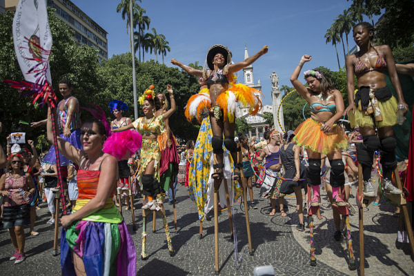 Bloco das Mulheres Rodadas Carnival Parade