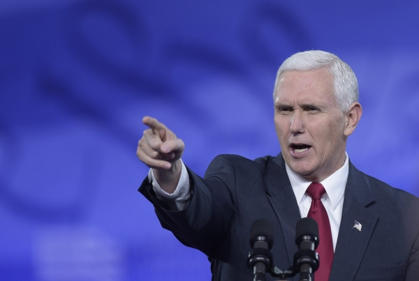 Image: Vice President Mike Pence speaks at the Conservative Political Action Conference