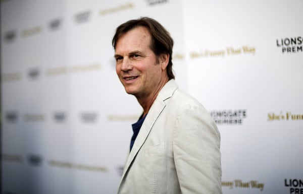 "Image: Actor Bill Paxton poses at the premiere of ""She's Funny That Way"" in Los Angeles, California, Aug. 19, 2015."