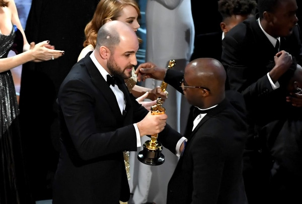 Image: Jordan Horowitz and Barry Jenkins