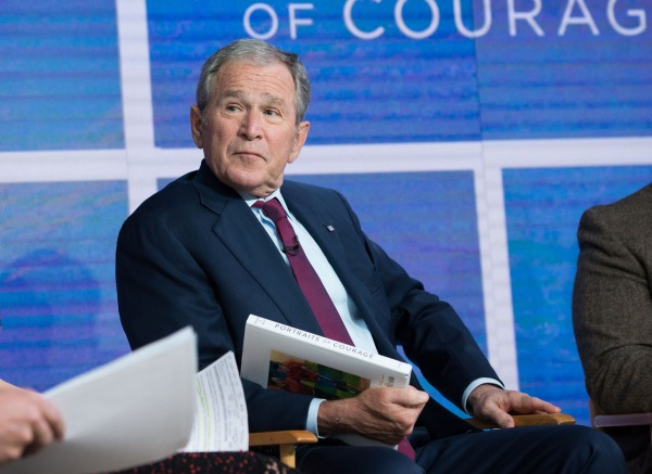 Image: Former President George W. Bush is interviewed on TODAY