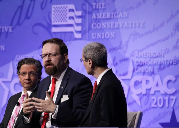 Image: Deputy assistant to President Trump Sebastian Gorka speaks at CPAC