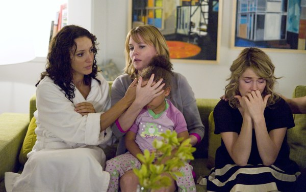 Image: Jennifer Beals as Bette, Laurel Holloman as Tina, and Leisha Hailey as Alice in The L Word