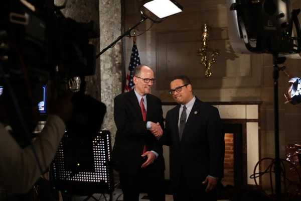 Tom Perez and Rep. Keith Ellison