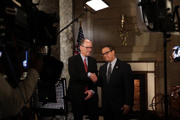 Tom Perez and Rep. Keith Ellison