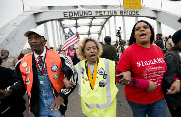 Image: Selma march anniversary