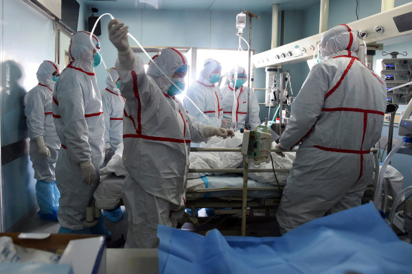 Image: H7N9 bird flu patient