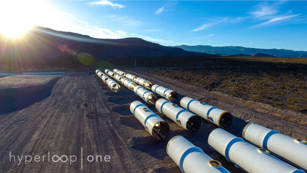 Image: Hyperloop One Test Track