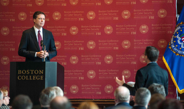 Image: FBI Director James Comey