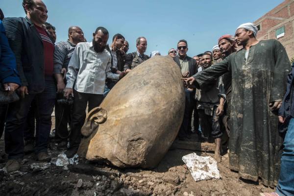 Image: Egyptian Antiquities Minister Khaled el-Anani