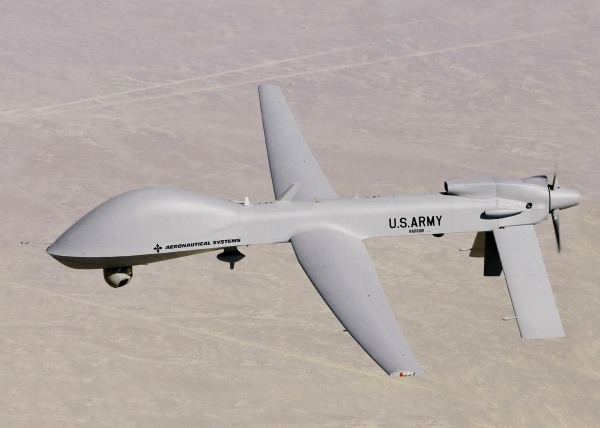 Image: A U.S. Army MQ-1C Warrior UAV