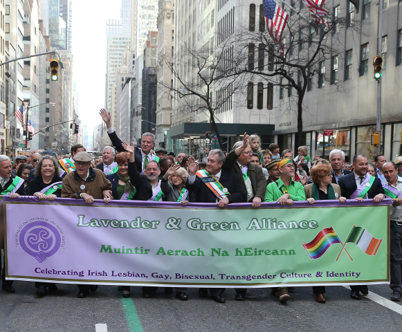 Image: Lavender and Green Alliance