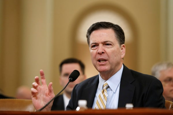 Image: FBI Director James Comey testifies before the House Intelligence Committee hearing into alleged Russian meddling in the 2016 U.S. election