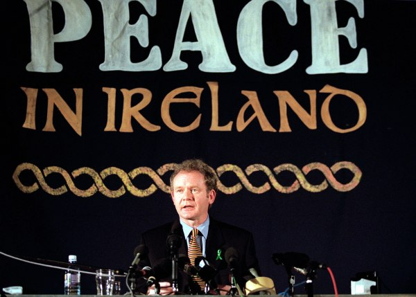 Image: Martin McGuinness in 1999