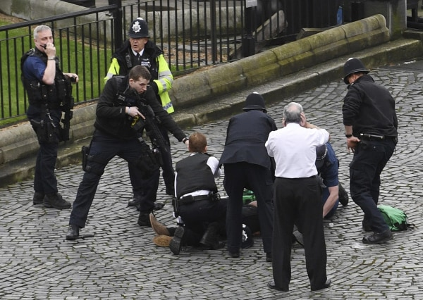 Image: London attack