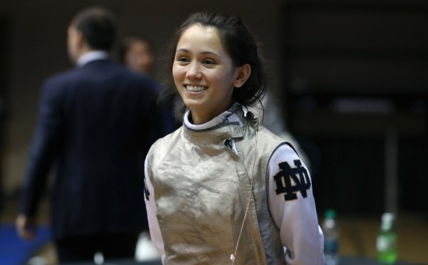 Image: Fencer Lee Kiefer
