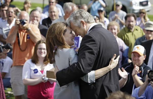 Image: Michele Bachmann and her husband Marcus
