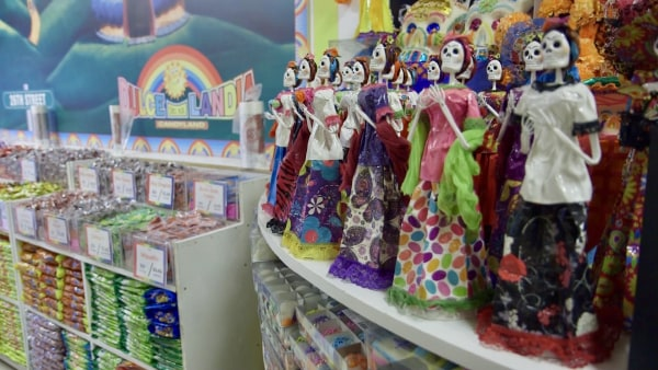 Aisles of Mexican candy are found at Dulcelandia in Little Village, Chicago