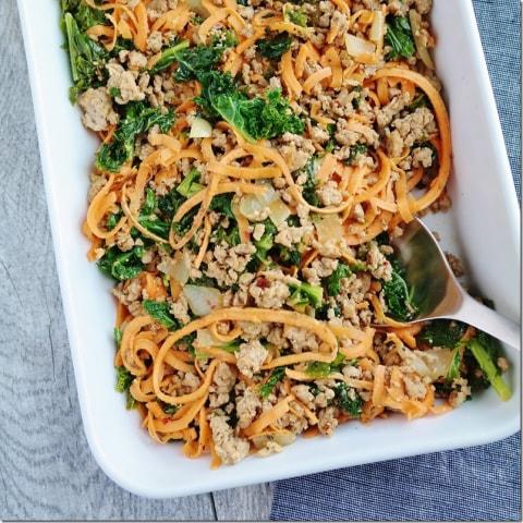 Image: Everyday sweet potato kale hash from Carrots n Cake blog