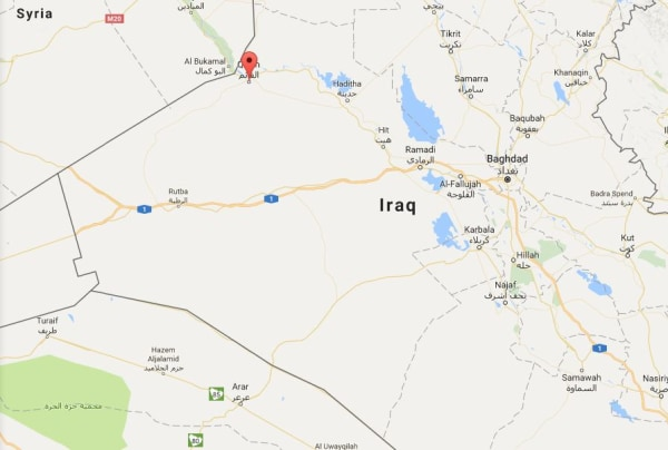 Image: Region of al-Qaim